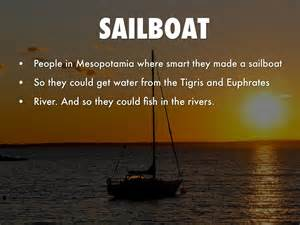 sailboat mesopotamia mesopotamian inventions sailboat www pixshark