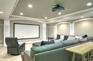 Tray Ceilings Ceiling Design Integral To A Remodeled Basement Angies List