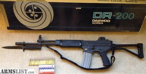 armslist for sale trade daewoo k2 dr 200