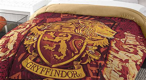 gryffindor comforter every harry potter fan needs these house comforters