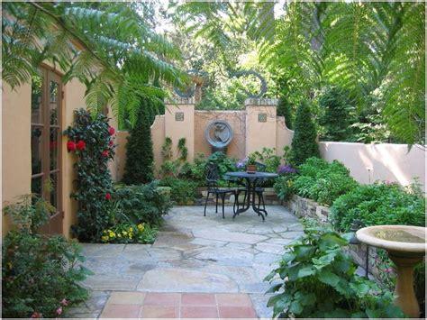 Mediterranian Courtyard Gardens Courtyards And Verandas Pinterest   french mediterranean courtyards mediterranean birdbath