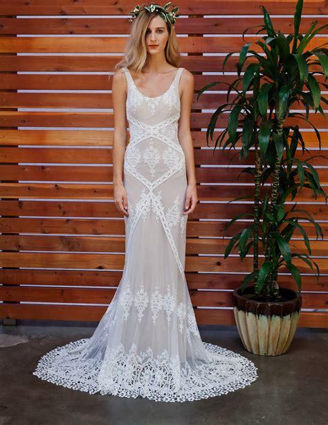 Dress Lace Cecilia cecilia bohemian lace wedding dress dreamers and