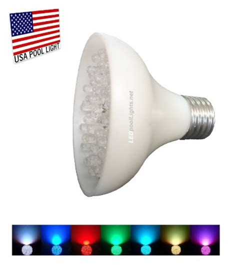 led swimming pool light bulb l e d swimming pool or spa light bulb color changing led