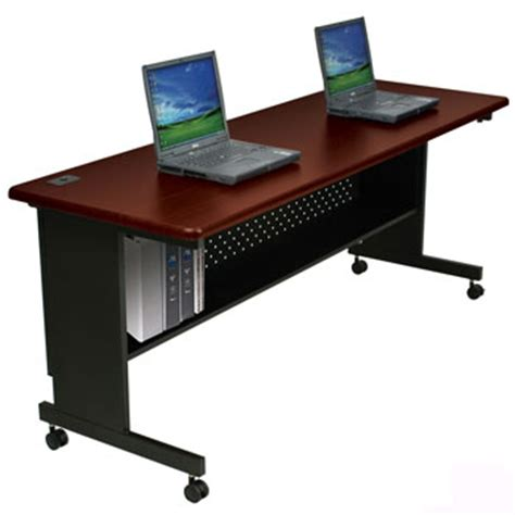 collapsible computer desk collapsible computer work desk 72 x 30