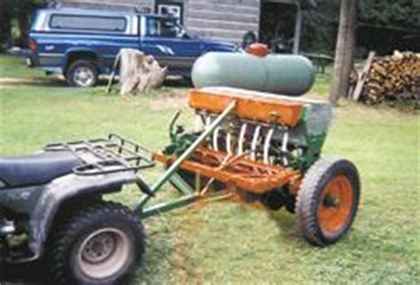 Atv Planters Drills by Atv Seed Drill Pictures To Pin On Pinsdaddy