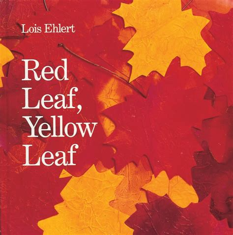 red leaf yellow leaf extension activities scholastic