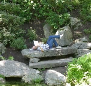 Photos Of Rock Gardens Rock Garden Seating Carolyn S Shade Gardens