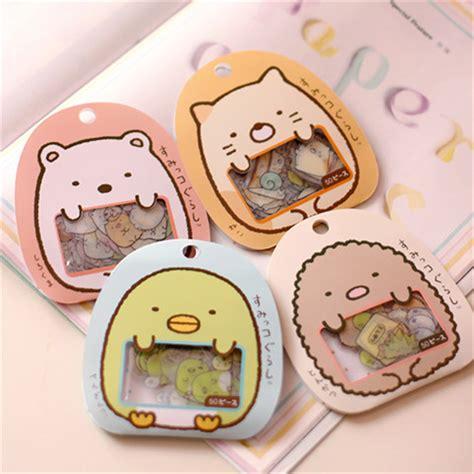 pcslot bag diy cute cartoon kawaii pvc stickers