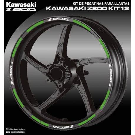 vinilos kawasaki vinilo perfil llanta kawasaki z800 kit12 vinyls