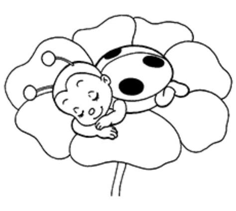 ladybug coloring pages for preschoolers 7 best printable for fabric paint traceable images on