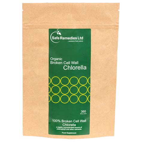 Cracked Cell Wall Chlorella - organic chlorella cracked broken cell wall safe remedies