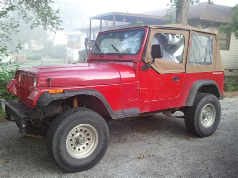 Jeep Valley Pvgangster S 1993 Jeep Yj In Pleasant Valley Mo