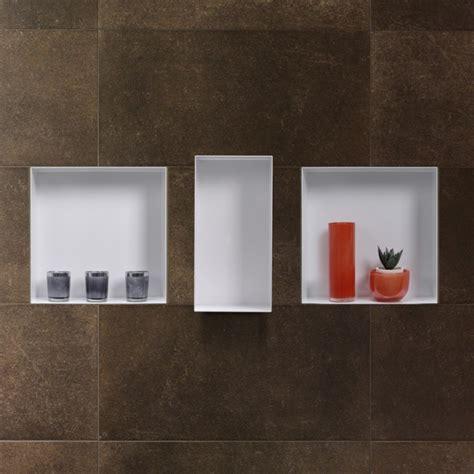 niches in bathroom walls c box white wall niche storing bathroom items