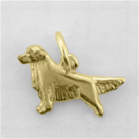 golden retriever charm golden retriever charm tiny110 274 00 14k9 inc designers of quality gold