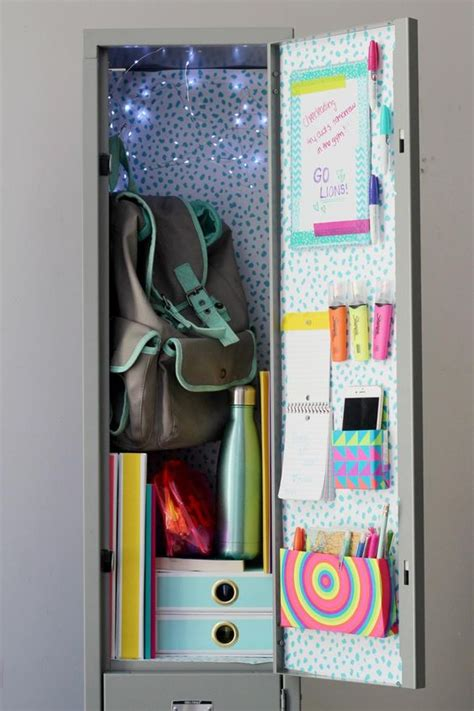 diy locker projects up your locker with these chic diys girlslife