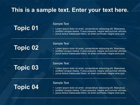 detailed agenda powerpoint template  present