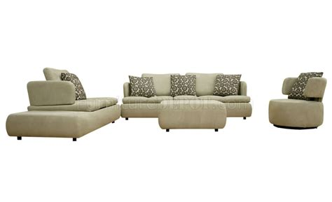 4 piece ottoman off white 4 piece living room set with ottoman