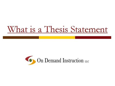 what is dissertation what is a thesis statement