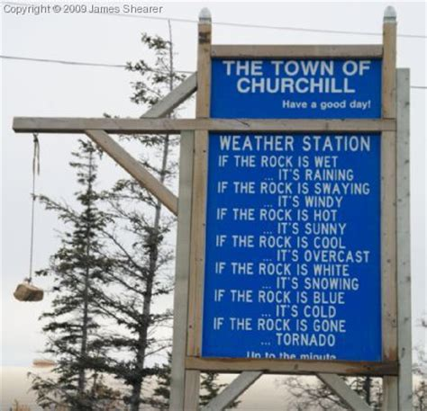weather station churchill town photos churchill