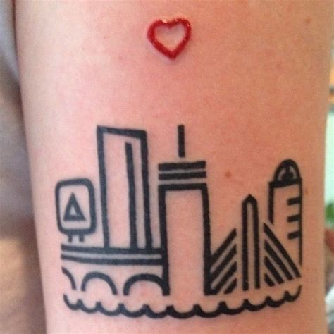 boston skyline tattoo designs 25 best ideas about seattle skyline on