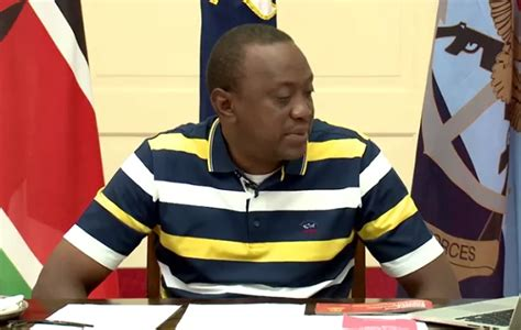Loses Shirt While Performing Live 4 by Raila Wears Similar T Shirt To Uhuru S While Going Live