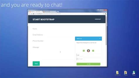 Php Live Support Chat Installation Use With Html Website Youtube Chatting Website Template Free