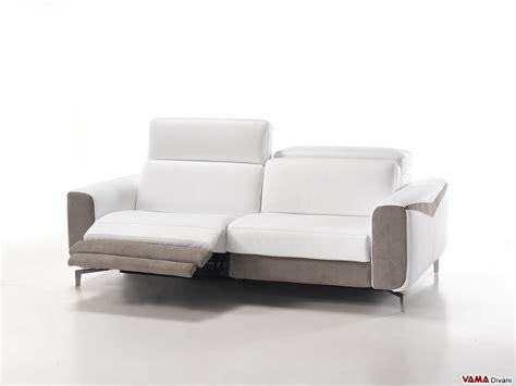 divani relax elettrici divano in pelle con relax elettrico per testa e piedi