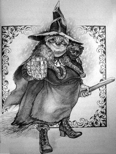 Nanny Ogg - Discworld, Terry Pratchett | disc world