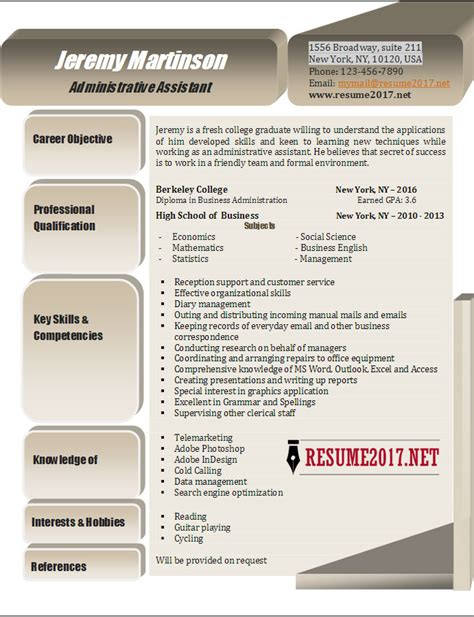 Resume For Hr Admin Assistant by Human Resources Resume Sles Visualcv Resume Sles