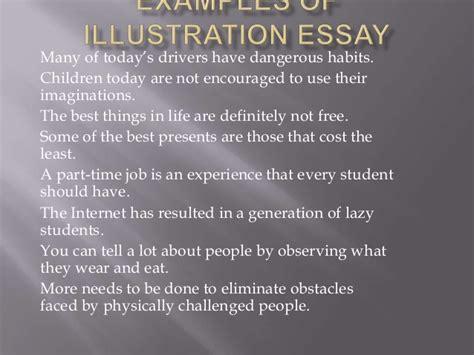Free Illustration Essay Exles by Exles Of Illustration Essay