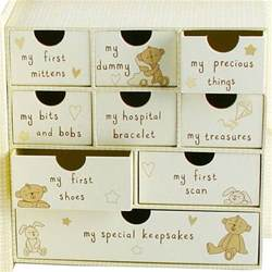baby keepsake box with drawers find me a gift