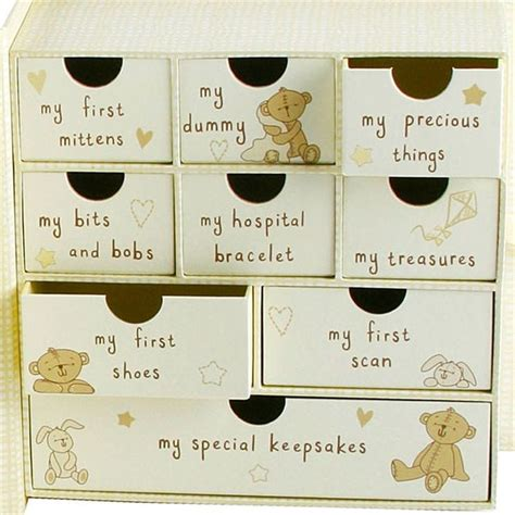 Baby Keepsake Box With Drawers by Baby Keepsake Box With Drawers Find Me A Gift