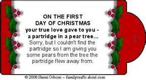 12 days of christmas gag gift fun ideas pinterest