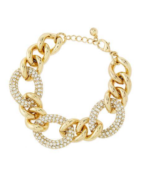 Rhinestone Chain Bracelet panacea rhinestone chain link bracelet