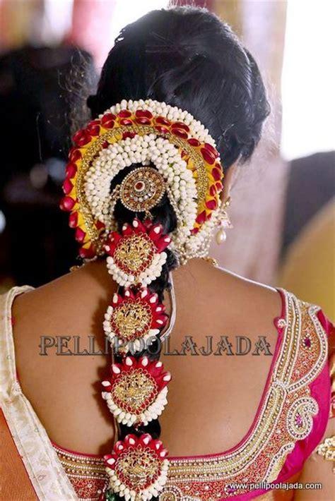 bridal jadai hairstyles poola jada ppj142 chennai velachery poojadai