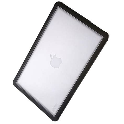 Stm Dux Shell Macbook Air 13 Inch Black stm dux rugged protective cover for macbook air 13 quot inch black clear eoutlet co uk