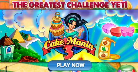 As Play Mania Kw 3 play cake mania 3 for free