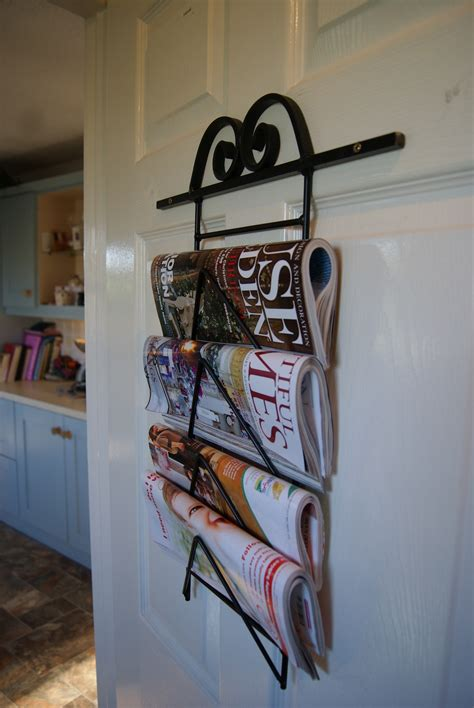 Wall Mounted Magazine Rack Uk by Wall Mounted Magazine Newspaper Rack The Iron Mill