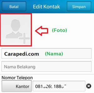 tutorial youwave whatsapp cara ganti nama dan foto profil whatsapp smartphone