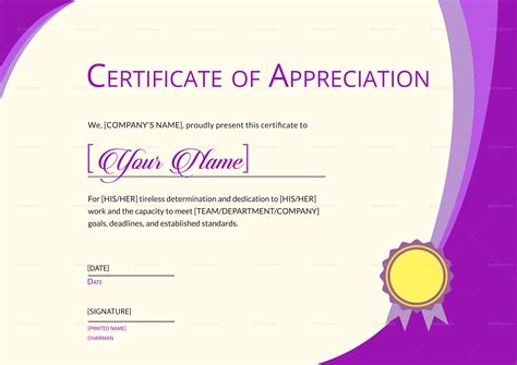 thank you certificates templates expression of thank you certificate design template in psd