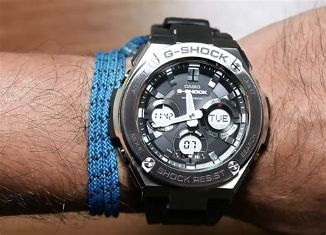 Jam Tangan G Shock Casio Protec Doble Time 1 casio g shock g steel gst s110 1a indowatch co id
