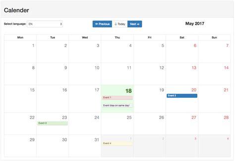 calendar design bootstrap github eazyserver vue bootstrap calendar use the