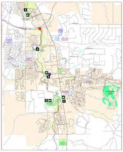Parker Colorado Map by Town Of Parker Trail System Douglas County Government