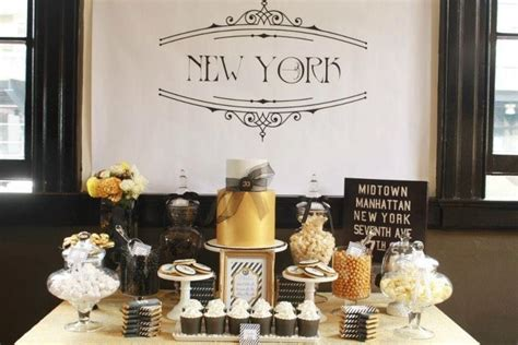 new york theme wedding theme