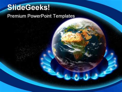 ppt themes on global warming global warming science powerpoint template 0610