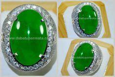 Jadeite Jade Giok A Birma Green Color Size jade gemstone batu giok on jade crystals