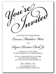 You Are Invited Template by Wedding Invitations You Re Invited Invitation