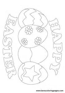 happy easter coloring pages free happy easter coloring pages