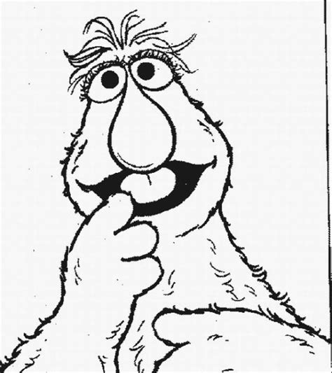 sesame street coloring pages learn to coloring