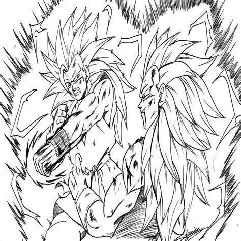 imagenes de goku a color para imprimir dragon ball z goku super saiyan coloring pages archives